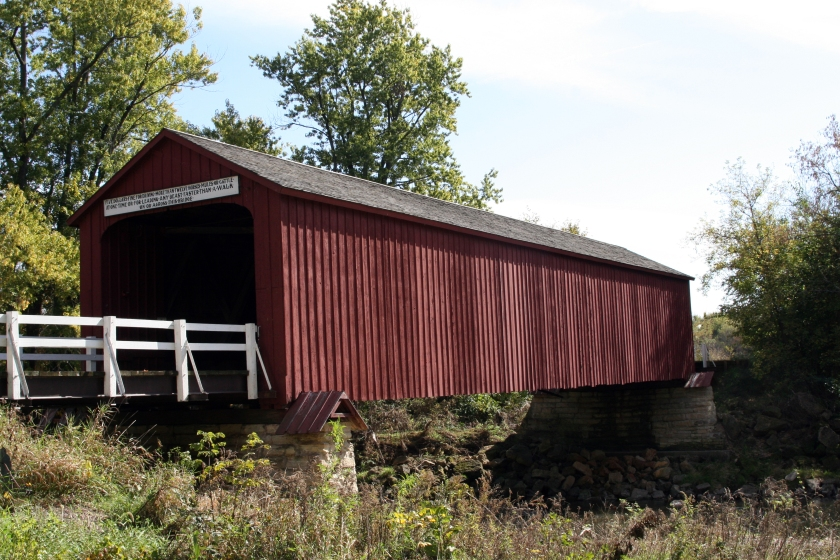 07Red Covered Bridge