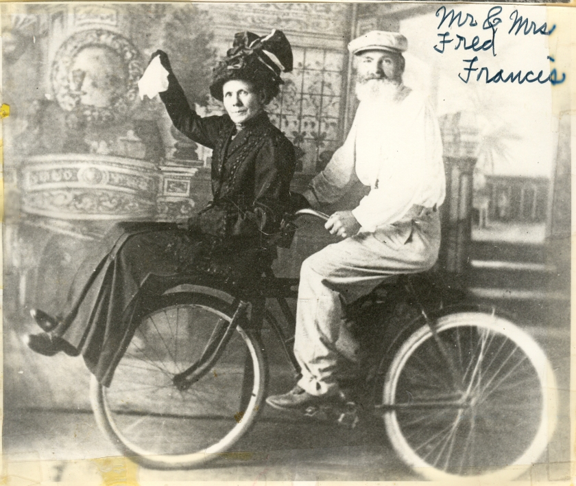 Fred & Wife bike